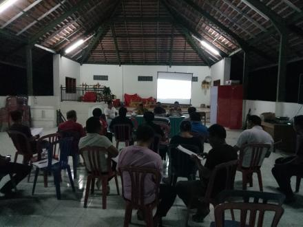 Rapat RKPDesa Perubahan tahun 2018