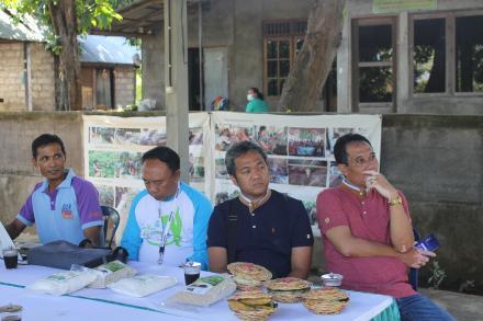 MONITORING DAN EVALUASI PROGRAM BUKTI BANANA SMART VILLAGE DARI TIM PT INDONESIA POWER UP.BALI