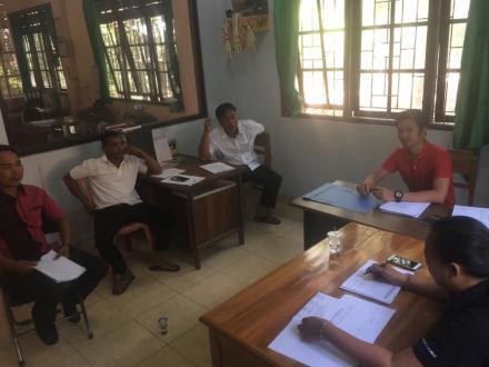 Rapat Perdana Anggota BPD Baru Desa Bukti
