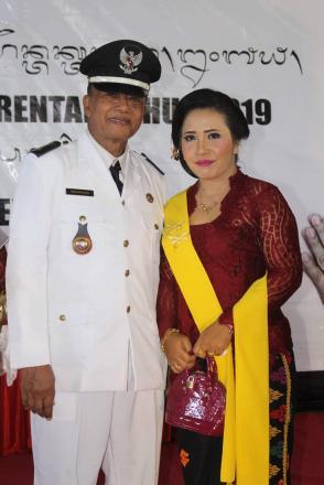 Gede Wardana Resmi dilantik sebagai Perbekel Bukti Terpilih Periode 2019-2025