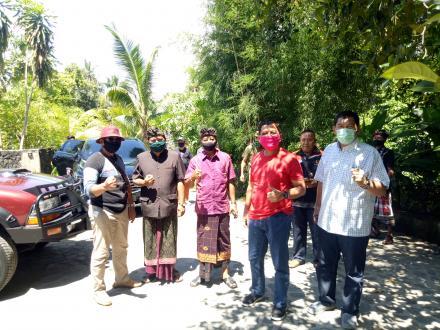 Wakil Bupati Buleleng Memantau Pekerja Migran Indonesia Asal Bukti Yang Menjalani Masa Karantina