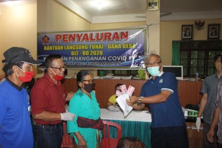 Penyaluran Bantuan Langsung Tunai Dana Desa Tahap Pertama