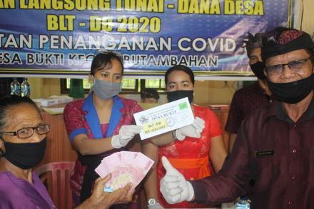 Penyaluran Bantuan Langsung Tunai Dana Desa (BLT-DD) Tahap II (kedua)