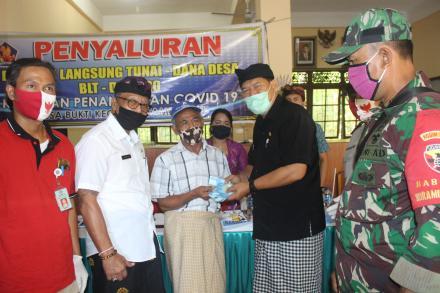 Penyaluran Bantuan Langsung Tunai Dana Desa Tahap III (ketiga)