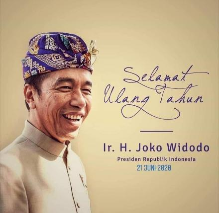 Selamat Ulang Tahun Presiden RI Bapak Ir. H. Joko Widodo