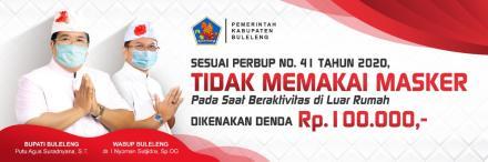 Sesuai PERBUP No 14 Tahun 2020 Penerapan Disiplin dan Penegakan Hukum Protokol