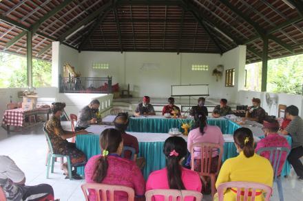 Musyawarah Desa Khusus untuk membahas KPM BLT-DD Tahun Anggaran 2021